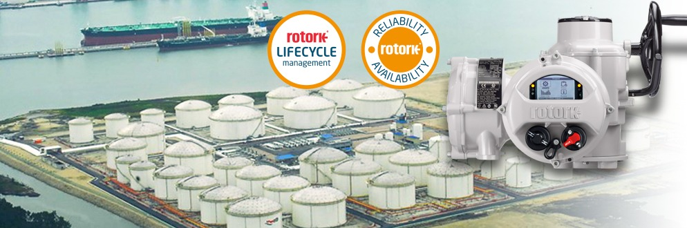 Rotork Client Support Programme delivers smart maintenance at VTTI Vasiliko (VTTV) oil terminal