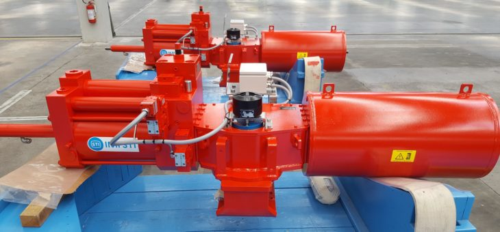 IMI STI RTQHS Hydraulic on/off actuators for KARAHA (Indonesia)