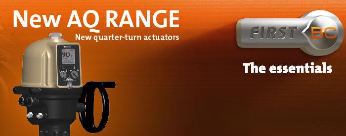 "AQ系列:伯纳德控制设备新型的角行程电动执行器——""The essentials""系列"