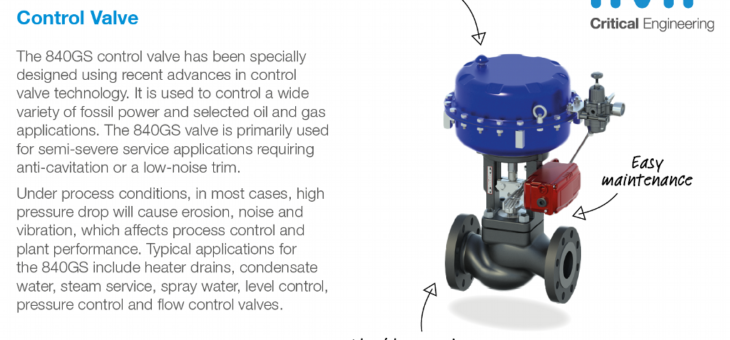 IMICCI Launch of 840GS Control Valve